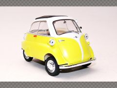 BMW ISETTA 250 ~ YELLOW | 1:18 Diecast Model Car
