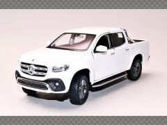 MERCEDES X CLASS ~ WHITE | 1:24 Diecast Model Car