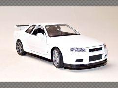NISSAN SKYLINE GT-R (R34) | 1:24 Diecast Model Car