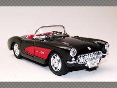 CHEVROLET CORVETTE CONVERTIBLE ~ 1957 | 1:24 Diecast Model Car