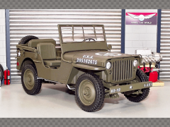 WILLYS JEEP ~ US ARMY | 1:18 Diecast Model Car