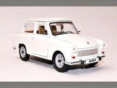 TRABANT 601 ~ WHITE | 1:24 Diecast Model Car