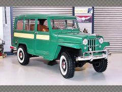 WILLYS JEEP ESTATE ~ 1955 | 1:18 Diecast Model Car