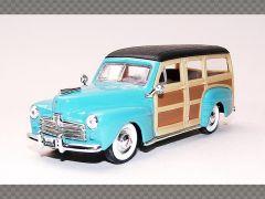 FORD WOODY ~ 1948 | 1:43 Diecast Model Car