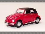 VOLKSWAGEN BEETLE 1200 CABRIO | 1:43 Diecast Model Car