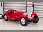 ALFA ROMEO 8C 2300 SPIDER TOURING | 1:18 Diecast Model Car