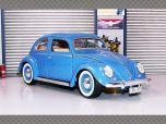 VOLKSWAGEN BEETLE 1955 ~ BLUE | 1:18 Diecast Model Car