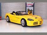 DODGE VIPER SRT/10 ~ 2004 ~ YELLOW | 1:18 Diecast Model Car