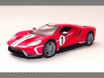 FORD GT ~ 2018   1:32 Diecast Model Car