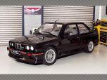 BMW E30 SPORT EVO 1990 ~ BLACK | 1:18 Diecast Model Car