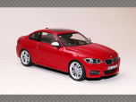 BMW SERIES 2 COUPE  (F22) 2014 ~ RED | 1:43 Diecast Model Car