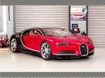 BUGATTI CHIRON ~ RED | 1:18 Diecast Model Car