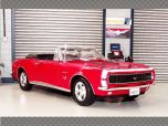CHEVROLET CAMARO SS 396 CONVERTIBLE 1967 ~ RED | 1:18 Diecast Model Car