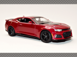 CHEVROLET CAMARO ZL1 2017 ~ RED | 1:24 Diecast Model Car