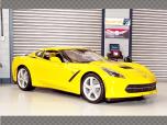 CHEVROLET CORVETTE STINGRAY ~ YELLOW | 1:18 Dieacst Model Car