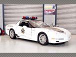 CHEVROLET CORVETTE Z06 STATE TROOPER 2001 | 1:18 Diecast Model Car