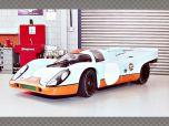 PORSCHE 917K GULF ~1970 1000 KM BRANDS HATCH | 1:43 Diecast Model Car