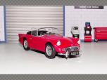 DAIMLER DART SP250 ~ RED | 1:43 Diecast Model Car