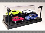 DISPLAY CASE 1:24/1:43/1:64 SCALE ~ ILLUMINATED | Showcase & Displays