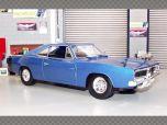 DODGE CHARGER R/T 1969 ~ BLUE | 1:18 Diecast Model Car