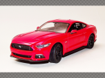 FORD MUSTANG GT ~ RED | 1:24 Diecast Model Car