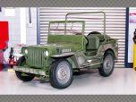 WILLYS JEEP ~ 1941 | 1:18 Diecast Model Car