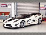 FERRARI FXX-K EVO ~ WHITE | 1:18 Diecast Model Car
