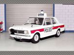 FORD CORTINA MKII HAMPSHIRE POLICE| 1:43 Diecast Model Car
