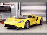 FORD GT 2017 ~ YELLOW | 1:18 Diecast Model Car