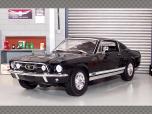 FORD MUSTANG GTA FASTBACK 1967 ~ BLACK | 1:18 Diecast Model Car