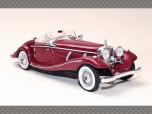 MERCEDES 540K SPECIAL ROADSTER (W29) ~ 1936 | 1:43 Diecast Model Car