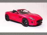 JAGUAR F TYPE V8 ~ RED | 1:43 Die Cast Model Car