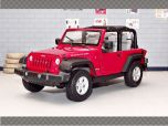 JEEP WRANGLER RUBICON (OPEN TOP) | 1:24 Diecast Model Car