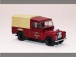 LAND ROVER 109 CANVAS - BRITISH RAILWAYS - RED | 1:76 Diecast Model Car