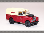 LAND ROVER DEFENDER - BRITISH RAIL - MAROON | 1:76 Diecast Model Car
