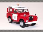 LAND ROVER ~ BARCELONA FIRE BRIGADE | 1:43 Diecast Model Car