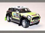 MINI ALL4 RACING  ~ DAKAR 2013   1:43 Diecast Model Car