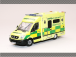 MERCEDES AMBULANCE - WELSH NHS | 1:76 Diecast Model Car