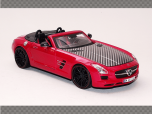 MERCEDES AMG ROADSTER ~ RED | 1:24 Diecast Model Car
