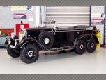 MERCEDES G4 (W31) ~ 1938 BLACK | 1:18 Diecast Model Car