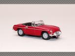 MGB Roadster - RED   1:76 Diecast Model Car