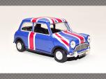 MINI COOPER UNION JACK | 1:43 Diecast Model Car