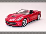 CHEVROLET CORVETTE STINGRAY (C7) | 1:24 Diecast Model Car