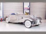 MERCEDES 500K ~ 1936 ~ SILVER | 1:18 Diecast Model Car