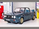 VOLKSWAGEN GOLF MK1 CABRIOLET ~ ETIENNE AIGNER 1990 | 1:18 Diecast Model Car
