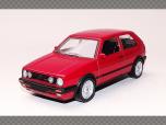 VOLKSWAGEN GOLF 2 GTi (G60) ~ 1990 | 1:43 Diecast Model Car