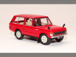 RANGE ROVER CLASSIC ~ RED | 1:76 Diecast Model Car
