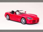 DODGE VIPER  CONVERTIBLE  | 1:43 Diecast Model Car