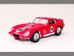 SHELBY COBRA DAYTONA COUPE  ~ 1965 | 1:43 Diecast Model Car