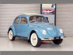 VOLKSWAGEN CLASSIC BEETLE 1950 ~ BLUE | 1:18 Diecast Model Car